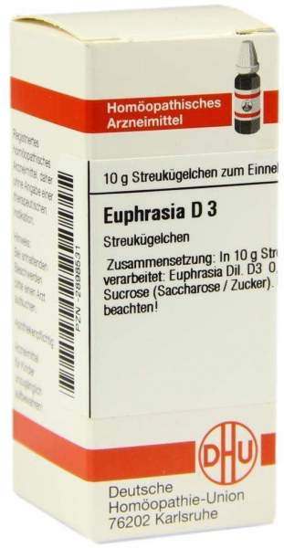Euphrasia D 3 Globuli