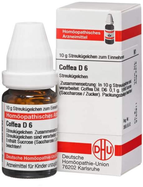 Coffea D6 10 g Globuli