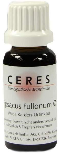 Ceres Dipsacus Fullonum Urtinktur 20 ml Tropfen