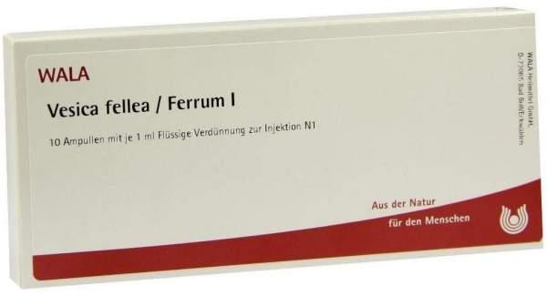 Vesica Fellea Ferrum I Ampullen