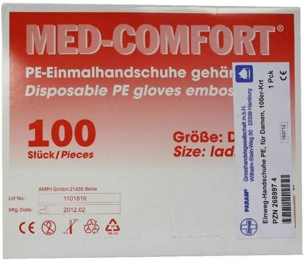 Handschuhe Einmal Für Damen Karton 100 Handschuhe