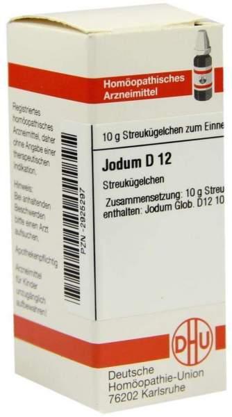 Jodum D12 10 G Globuli