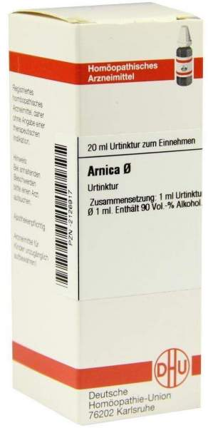 Arnica Urtinktur D1 20 ml Dilution