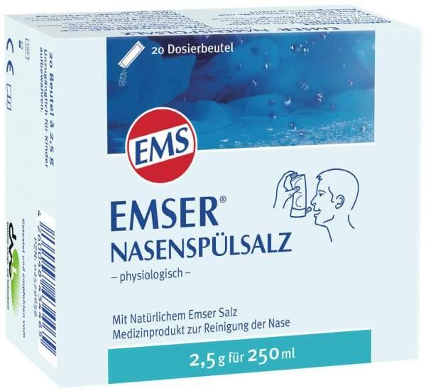 Emser Nasenspülsalz physiologisch 20 Beutel Pulver