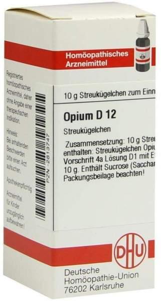 Opium D12 10 G Globuli
