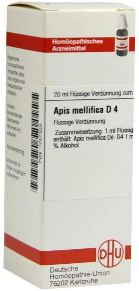 Apis Mellifica D 4 20 ml Dilution