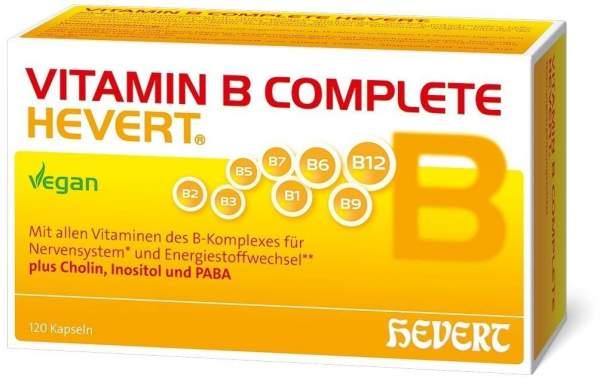 Vitamin B Complete Hevert 120 Kapseln