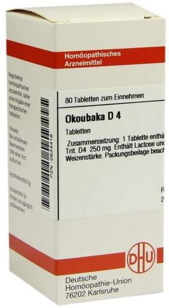 Okoubaka D 4 80 Tabletten