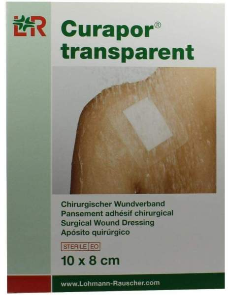 Curapor 5 Wundverbände Transparent 10 X 8 cm Steril