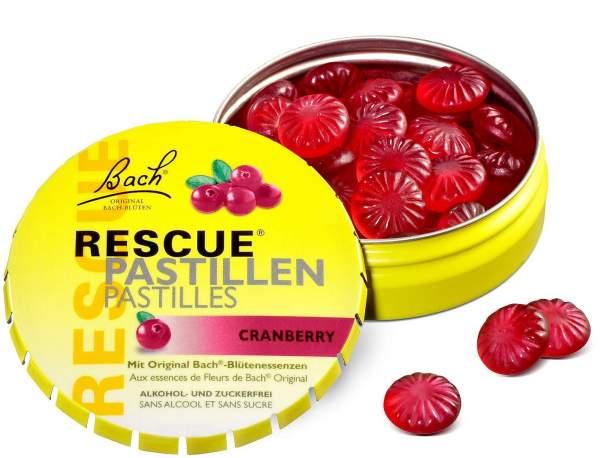 Bach Original Rescue Pastillen Cranberry 50 g Pastillen