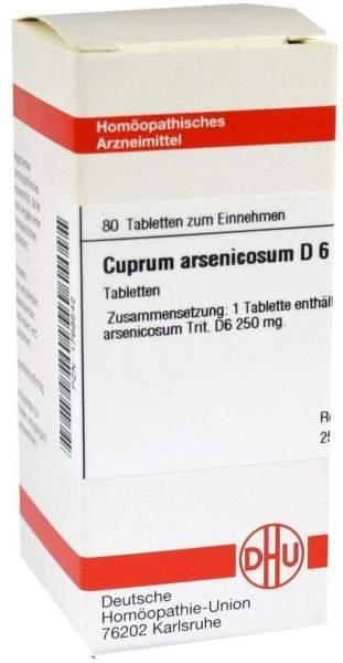 Cuprum Arsenicosum D6 80 Tabletten