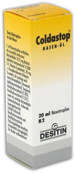 Coldastop Nasenöl 20 ml Lösung
