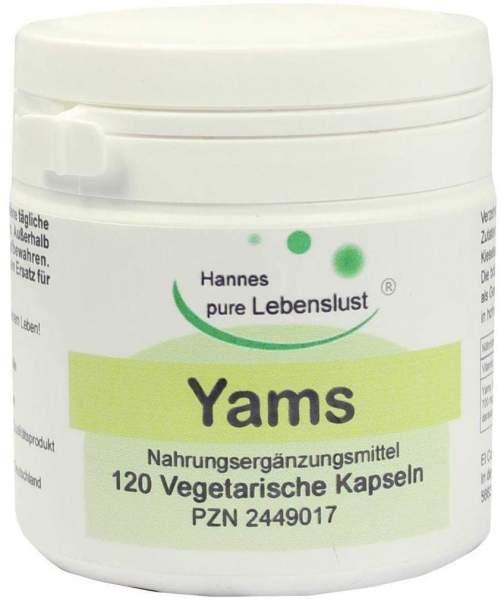 Yams Wurzel 120 Kapseln