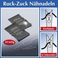 Ruck-Zuck Nähnadeln, 24 teilig