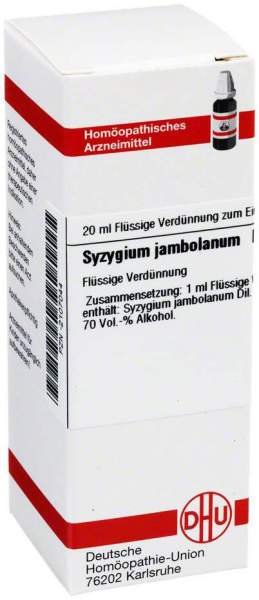 Syzygium Jambolanum D2 Dilution 20 ml Dilution