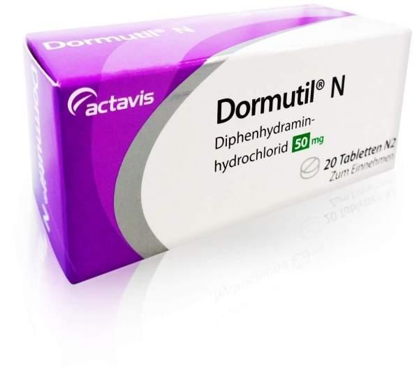 Dormutil N 20 Tabletten