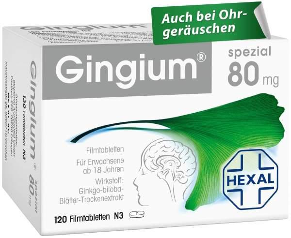 Gingium spezial 80 mg 120 Filmtabletten
