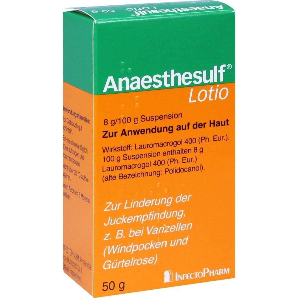 Anaesthesulf Lotio 50g bei Nässenden Hauterkran...