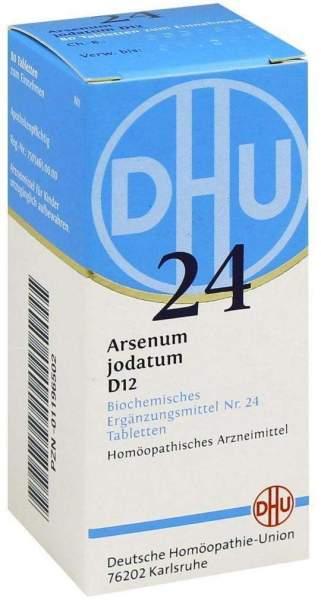 Biochemie Dhu 24 Arsenum Jodatum D12 80 Tabletten
