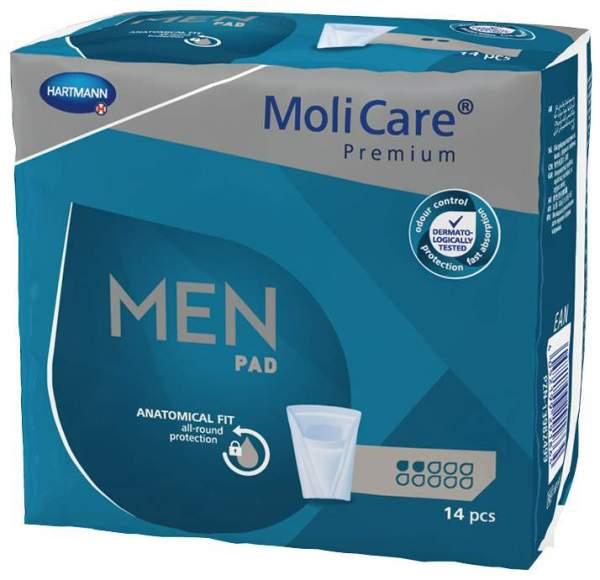 Molicare Premium Men Pad 2 Tropfen 14 Stück