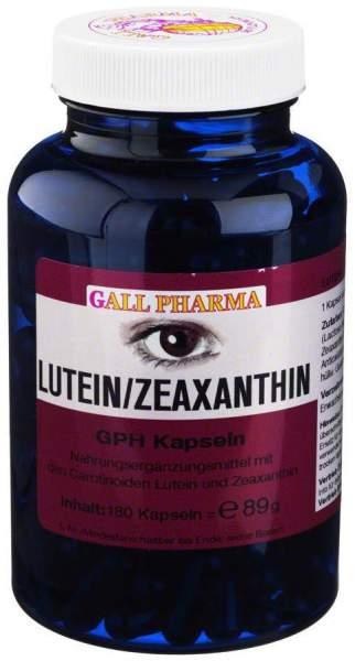 Lutein Zeaxanthin Gph Kapseln