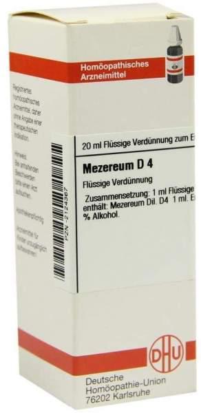 Mezereum D 4 Dilution