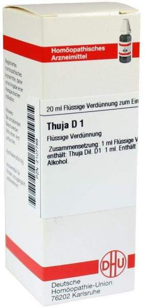 Thuja D 1 Dilution