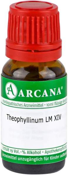 Theophyllinum LM 14 Dilution 10 ml