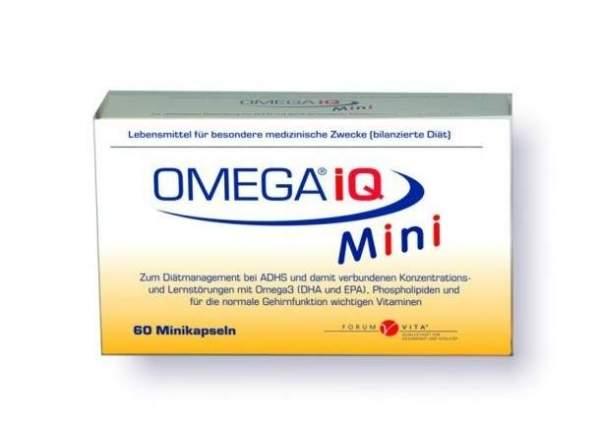 Omega Iq Minikapseln 60 Stück