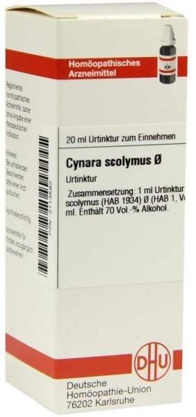 Cynara Scolymus Urtinktur 20 ml Dilution