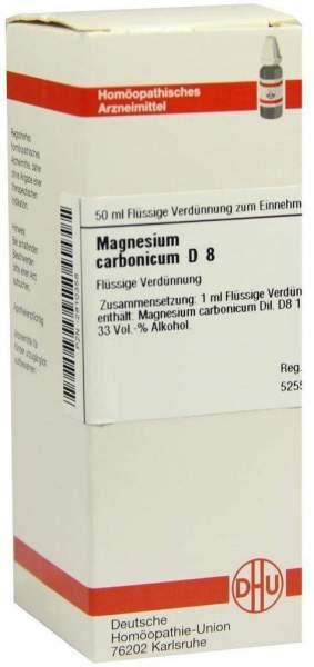 Magnesium Carbonicum D8 Dhu 50 ml Dilution