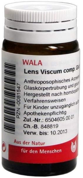 Wala Lens Viscum Comp Globuli Velati 20 G Kaufen Volksversand Versandapotheke