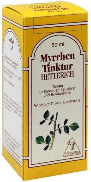 Myrren Tinktur Hetterich 50ml