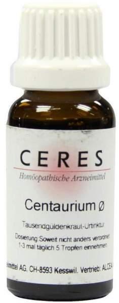 Ceres Centaurium Urtinktur