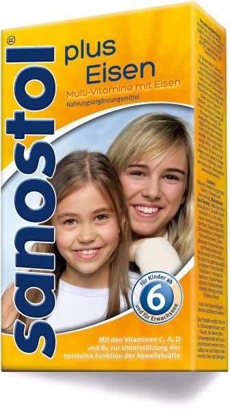 Sanostol Plus Eisen 460 ml Saft