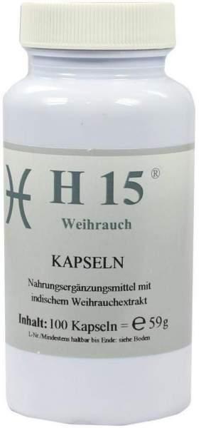 H 15 Weihrauchkapseln 350 mg 100 Kapseln