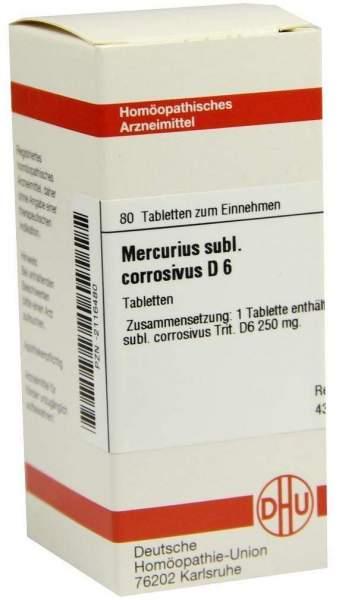 Mercurius Subl. Corr. D 6 Tabletten