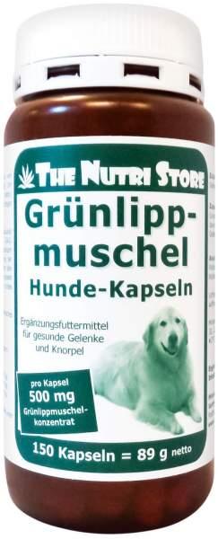 Grünlippmuschel 500 mg Für Hunde Kapseln