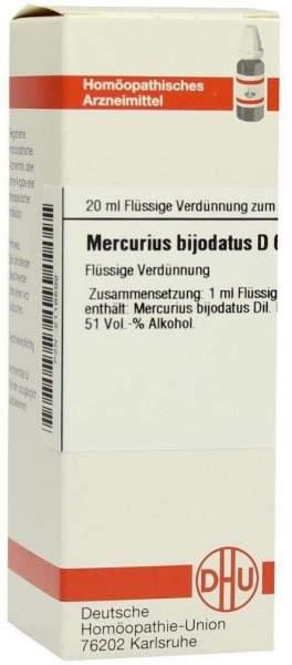 Dhu Mercurius Bijodatus D6 Dilution