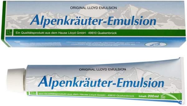 Alpenkräuter Emulsion 200 g