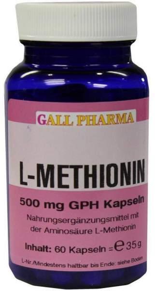 L-Methionin 500mg Kapseln