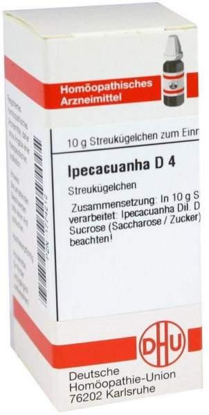 Ipecacuanha D4 10 G Globuli