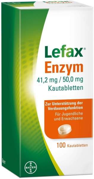 Lefax Enzym 100 Kautabletten