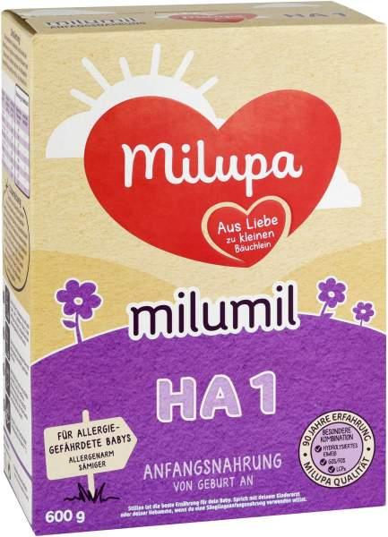 Milupa Milumil Ha 1 600 G Pulver