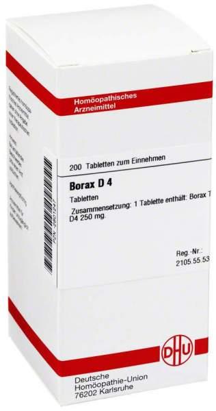 Borax D4 200 Tabletten