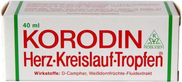 Korodin Herz-Kreislauf 40 ml Tropfen