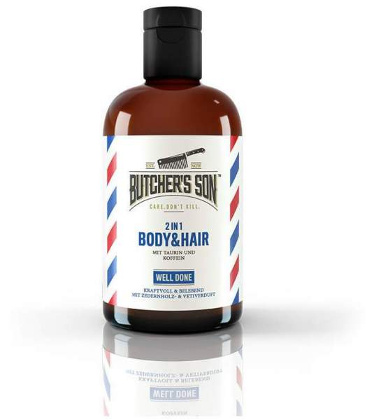 Butcher s Son 2 in 1 Body & Hair Shampoo well done 420 ml
