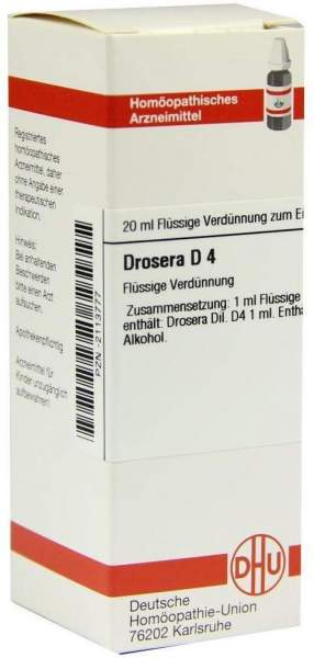Drosera D 4 Dilution