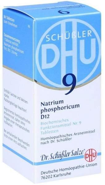 Biochemie Dhu 9 Natrium Phosphoricum D12 80 Tabletten