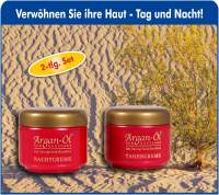 Bio-Vital Pflegeset Argen-Öl Tag- und Nachtcreme